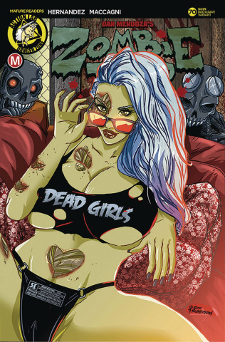 Zombie Tramp #70 (Rudetoons Reynolds Cover)