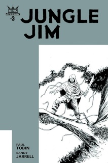Jungle Jim #3 (10 Copy Shalvey B&W Cover)