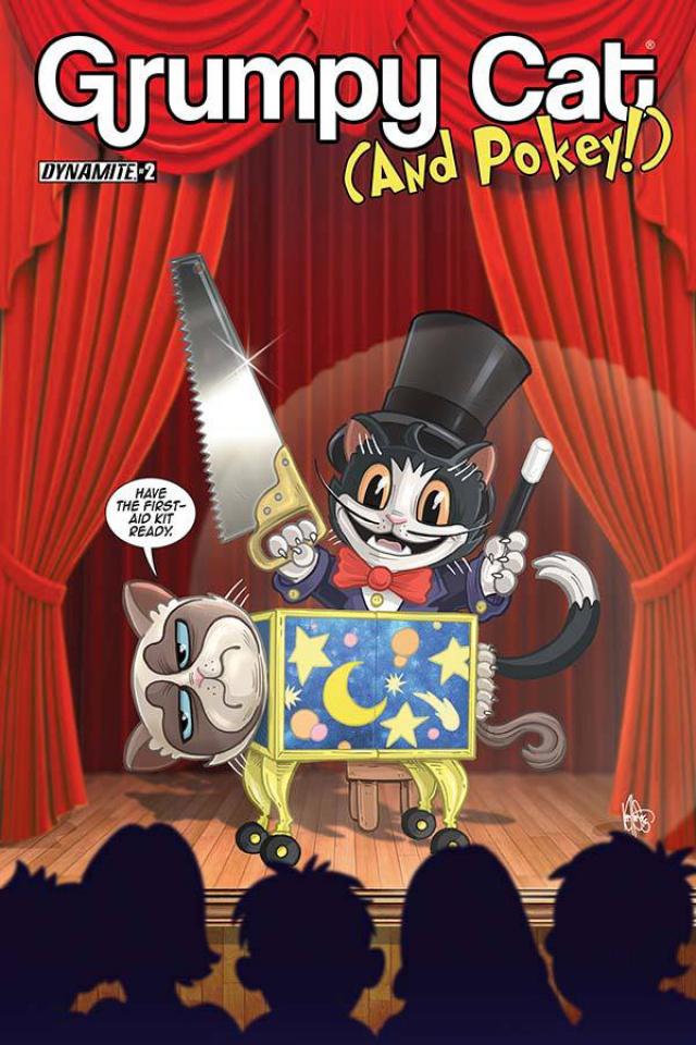 Grumpy Cat (and Pokey!) #2 (Haeser Cover)