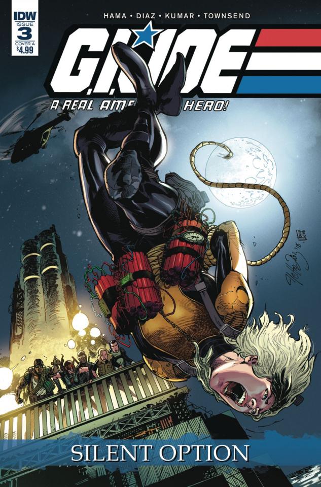G.I. Joe: A Real American Hero - Silent Option #3 (Diaz Cover)