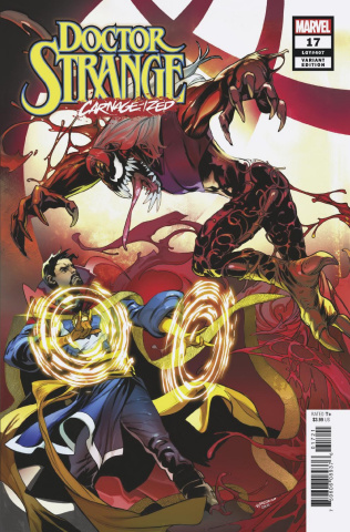 Doctor Strange #17 (Lupacchino Carnage-ized Cover)