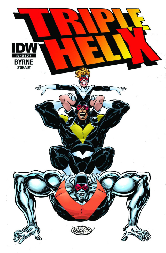 Triple Helix #2 (Subscription Cover)