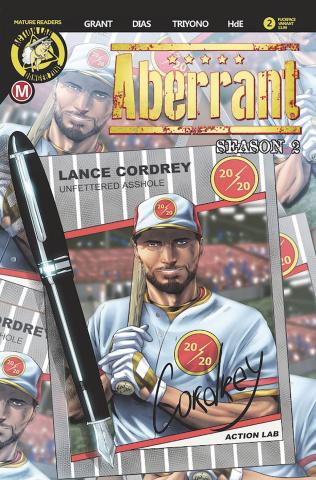 Aberrant, Season 2 #2 (Leon Dias Cover)