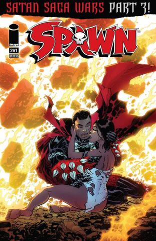 Spawn #261 (Larsen & McFarlane Cover)