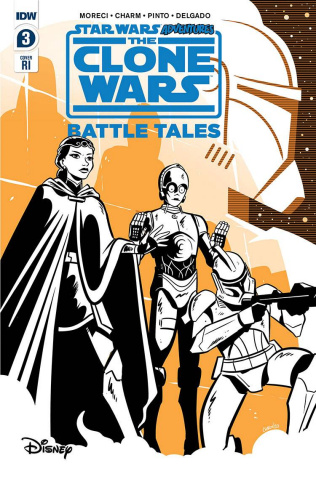 Star Wars Adventures: The Clone Wars #3 (10 Copy Charm Cover)