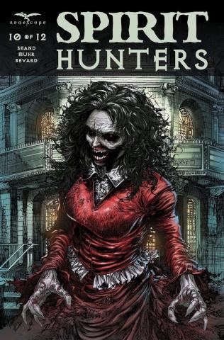 Spirit Hunters #10 (Tolibao Cover)