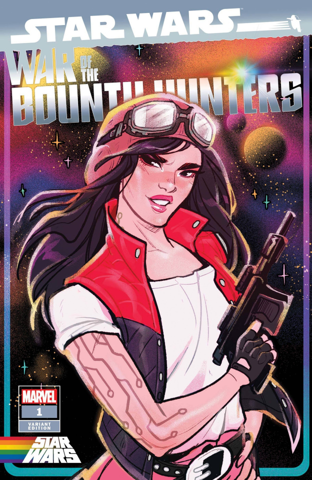 Star Wars: War of the Bounty Hunters #1 (Tarr Pride Cover)