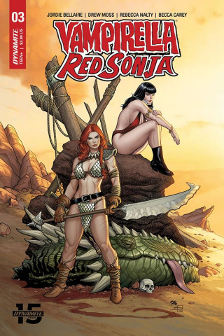 Vampirella / Red Sonja #3 (Cho & Rich Cover)