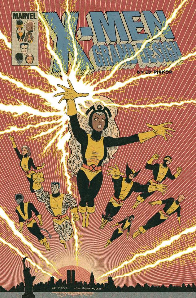 X-Men Grand Design: Second Genesis #2 (Piskor Cover)