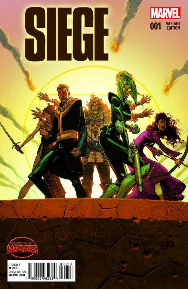 Siege #1 (Robinson Cover)