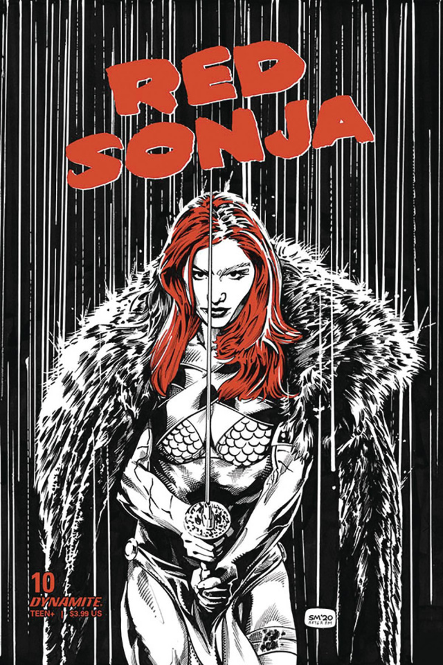 Red Sonja #17 (7 Copy Mooney Homage Cover)