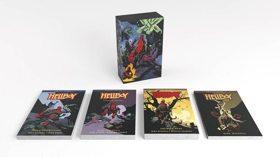 Hellboy Boxed Set (Omnibus)