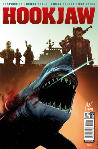 Hookjaw #1 (Boyle Cover)