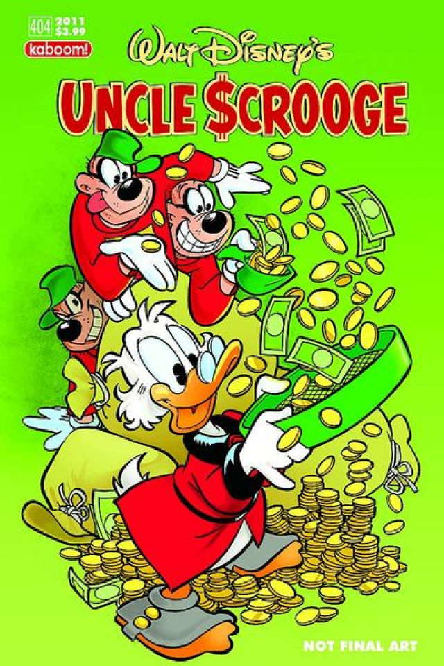Uncle Scrooge #404