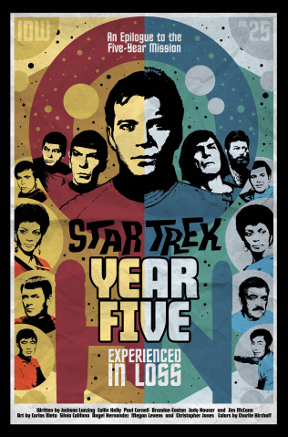 Star Trek: Year Five #25 (10 Copy Lendl Cover)