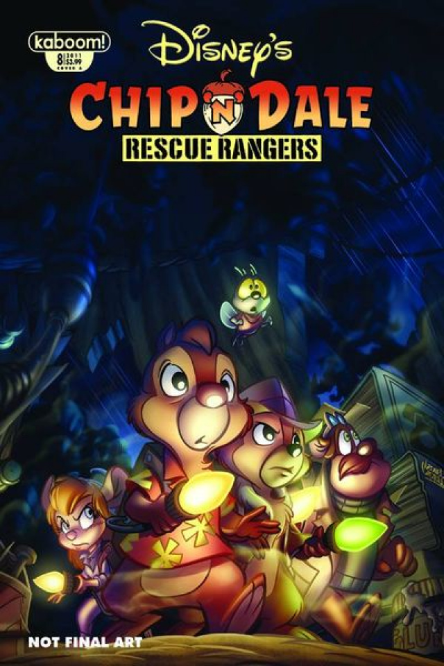Chip 'N' Dale Rescue Rangers #8
