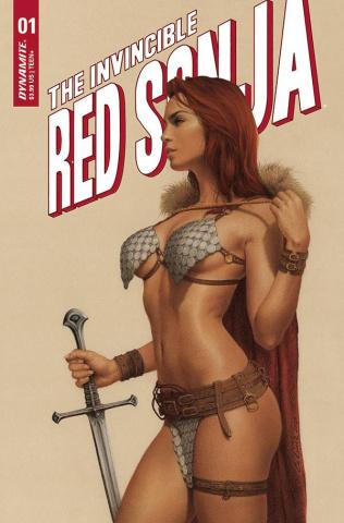 The Invincible Red Sonja #1 (Celina Cover)