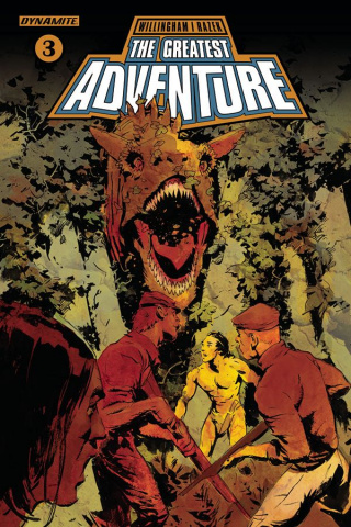 The Greatest Adventure #3 (Nord Cover)