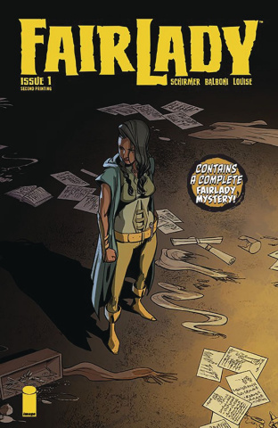 FairLady #1 (2nd Printing)