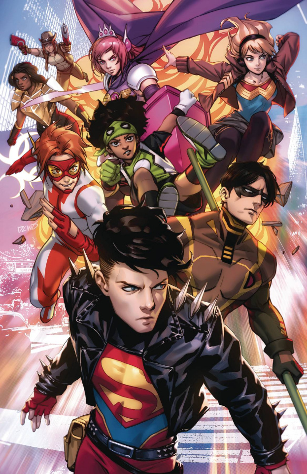 Young Justice #18 (Card Stock Derrick Chew Cover)