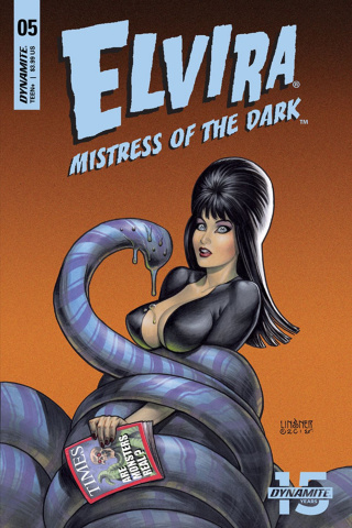 Elvira: Mistress of the Dark #5 (Linsner Cover)