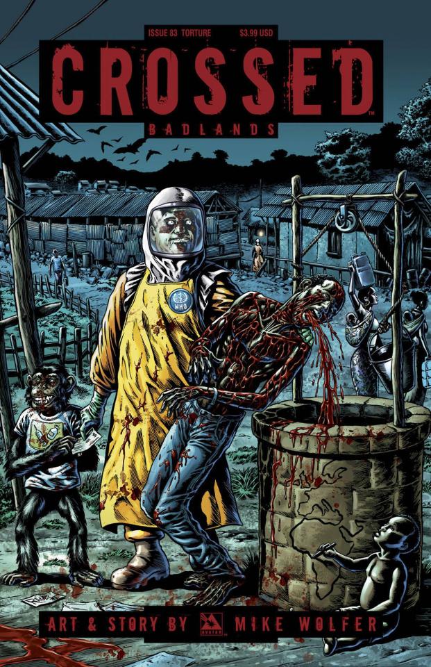 Crossed: Badlands #83 (Torture Cover)
