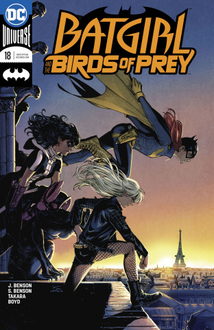 Batgirl and The Birds of Prey #18 (Variant Cover)