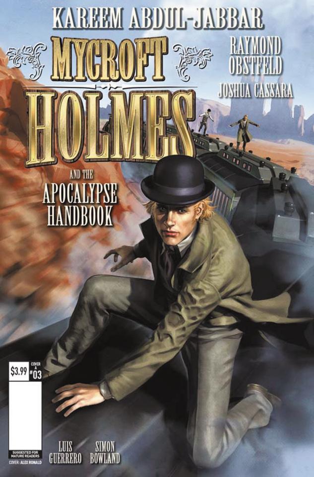 Mycroft Holmes #3 (Ronald Cover)