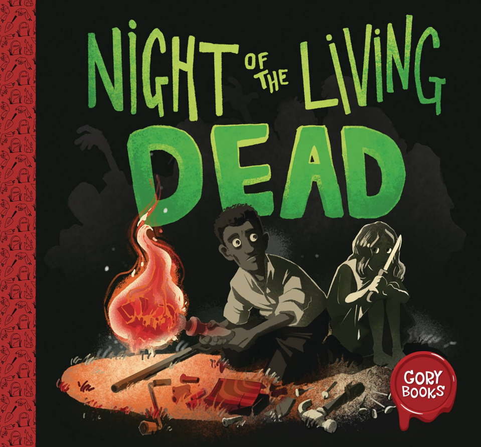Gory Books Vol. 1: Night of the Living Dead (Crawford Cover)