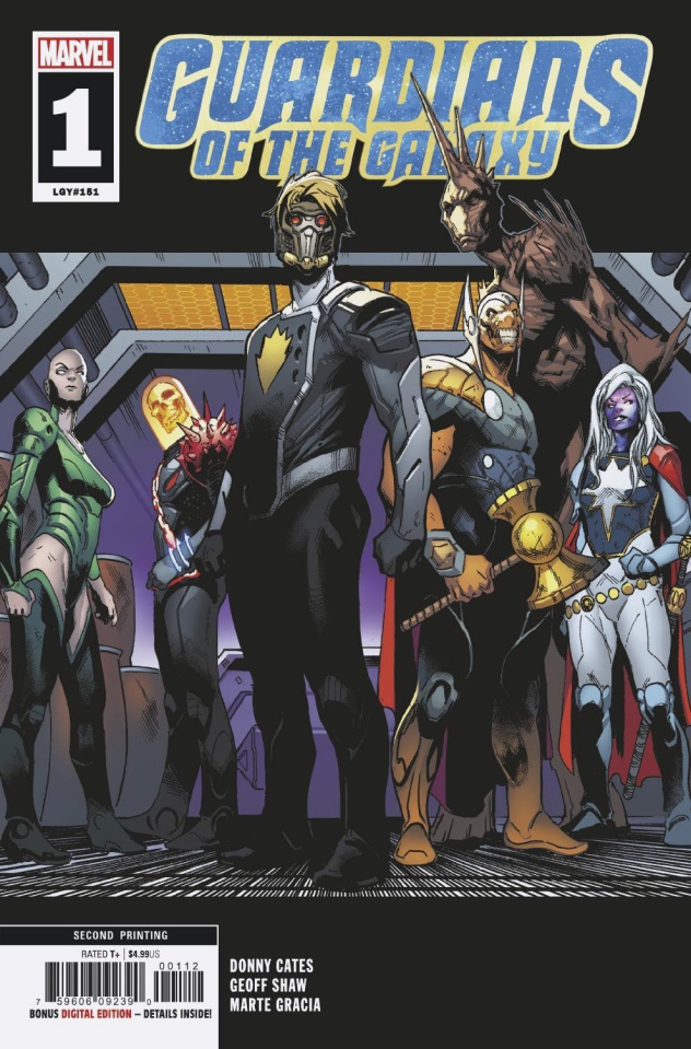 Guardians of the Galaxy #1 (Shaw 2nd Printing)