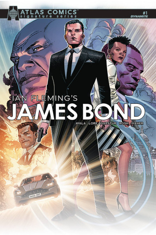 James Bond #1 (Ayala & Lore Signed Atlas Edition)