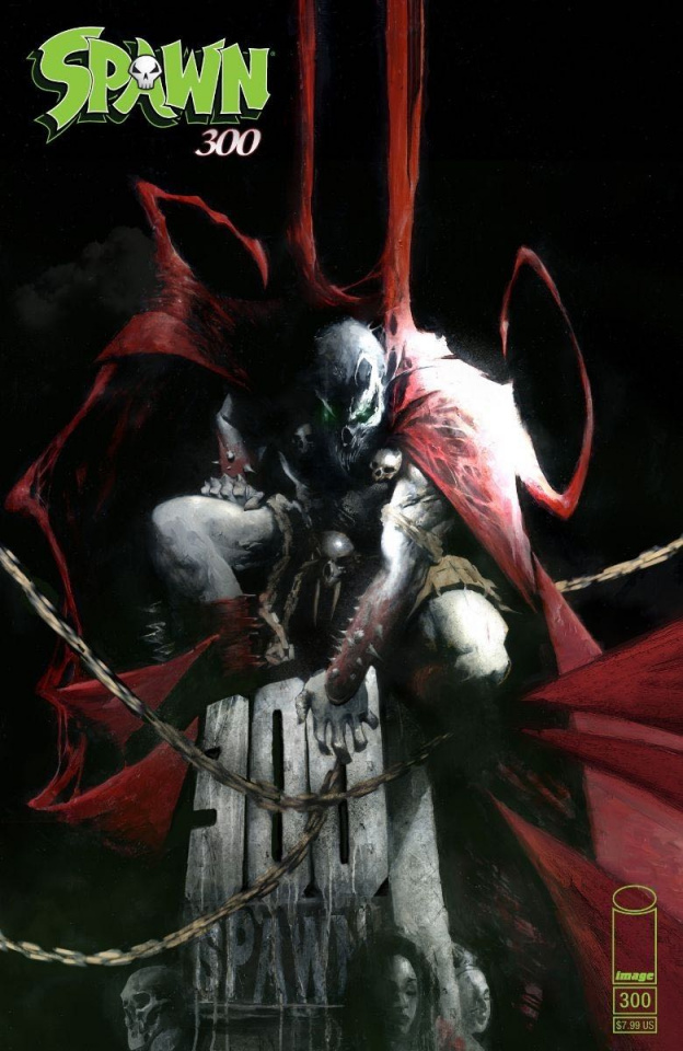 Spawn #300 (Alexander Cover)