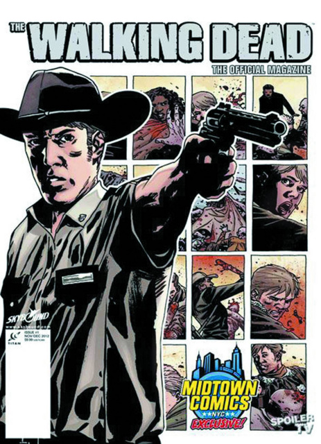 The Walking Dead Magazine #1 (Midtown Grimes cover)