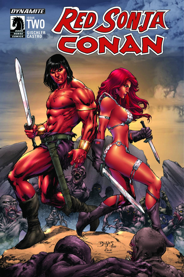 Red Sonja / Conan #2 (Benes Cover)