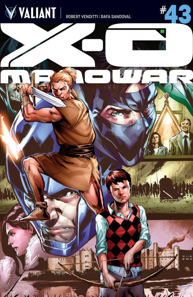 X-O Manowar #43 (Jimenez Cover)