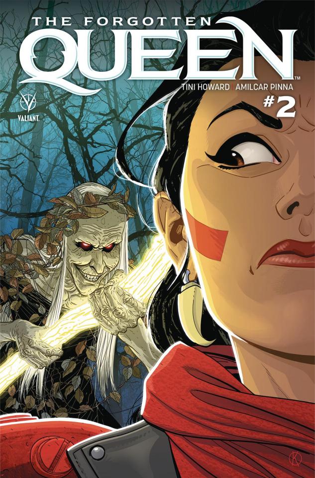 The Forgotten Queen #2 (Kano Cover)