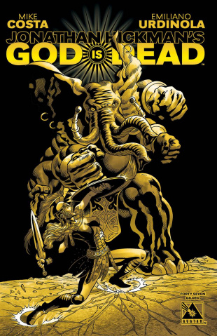God Is Dead #47 (Gilded Cover)