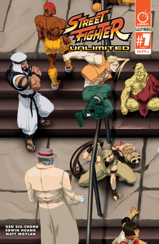 Street Fighter Unlimited #7 (Cruz Ultra Jam Cover)