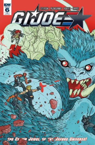 G.I. Joe #6 (10 Copy Cover)