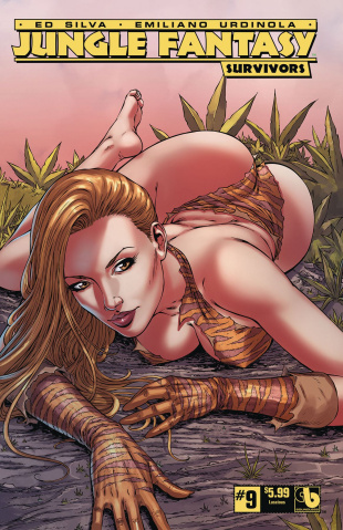 Jungle Fantasy: Survivors #9 (Luscious Cover)