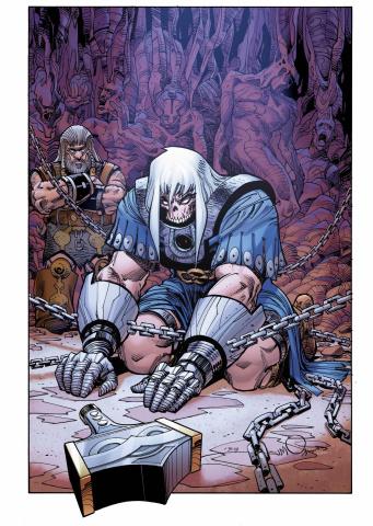 Ragnarök: The Breaking of Helheim #2 (Simonson Cover)