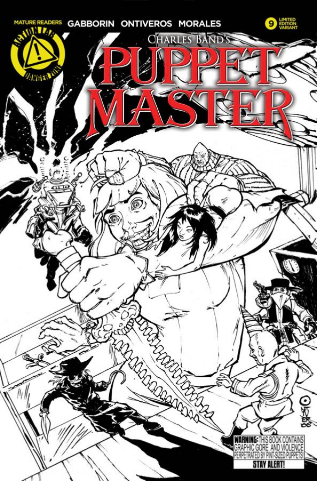 Puppet Master #9 (Sketch Cover)
