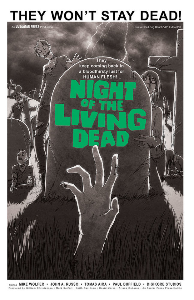 Night of the Living Dead #1 (Long Beach VIP Cover)