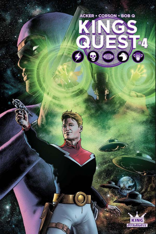 Kings Quest #4 (Worley Subscription Cover)