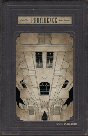 Providence #10 (Ancient Tome Retailer Cover)