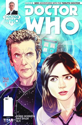 Doctor Who: New Adventures with the Twelfth Doctor #6 (Shedd Cover)