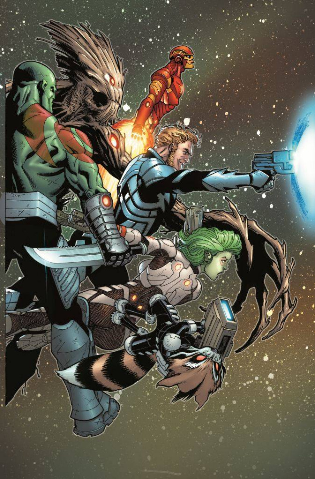 Guardians of the Galaxy #3 (McGuinness Cover)