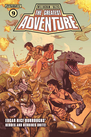 The Greatest Adventure #9 (Smallwood Cover)