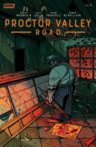 Proctor Valley Road #4 (Franquiz Cover)