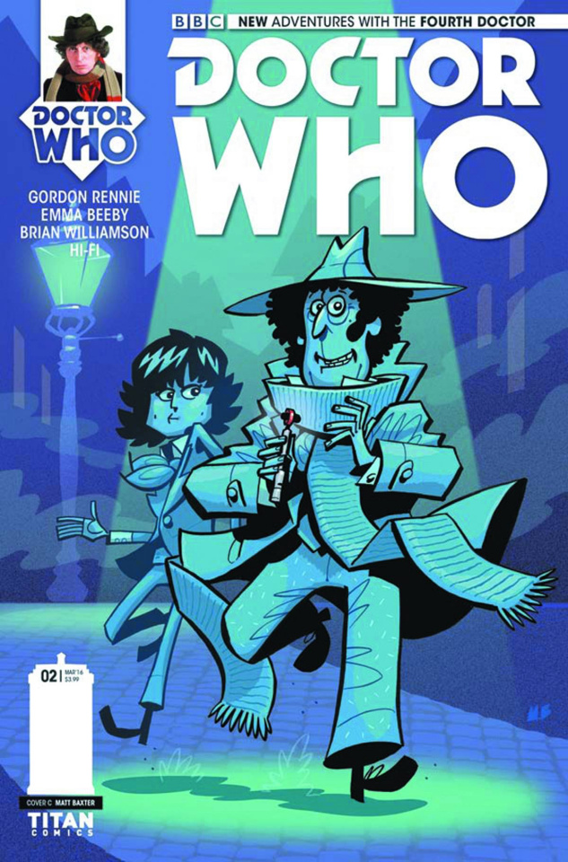 Doctor Who: New Adventures with the Fourth Doctor #2 (Baxter Cover)